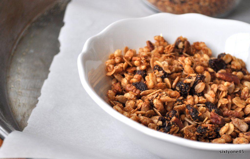 Cinnamon breakfast cereal cinnamon breakfast cereal
