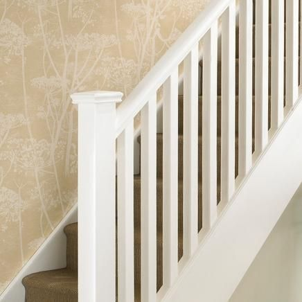 Staircase Oak Colonial Spindles Ideas Copy Advice For Your Home