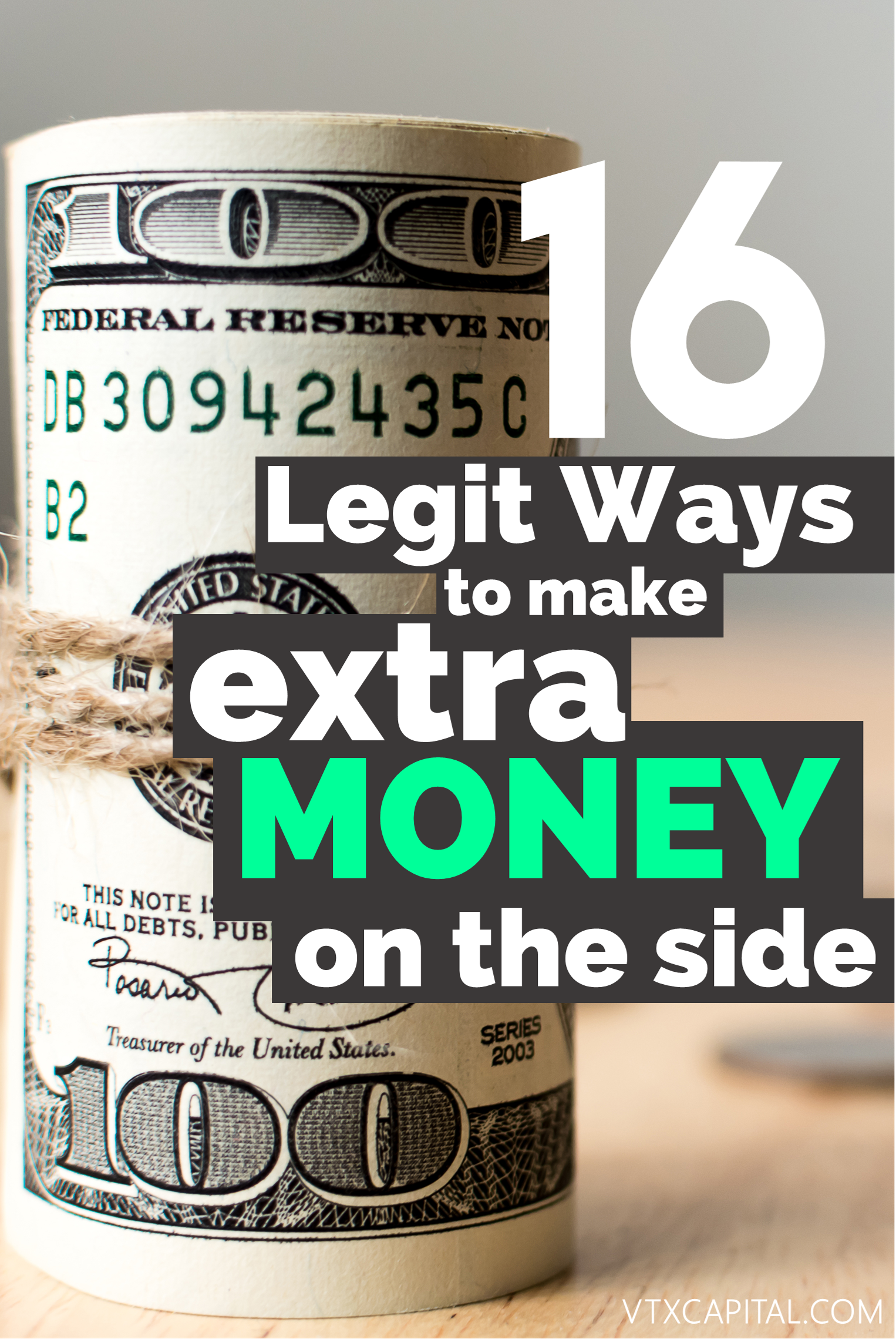 Legitimate Ways To Make Extra Cash On The Side Extra Cash