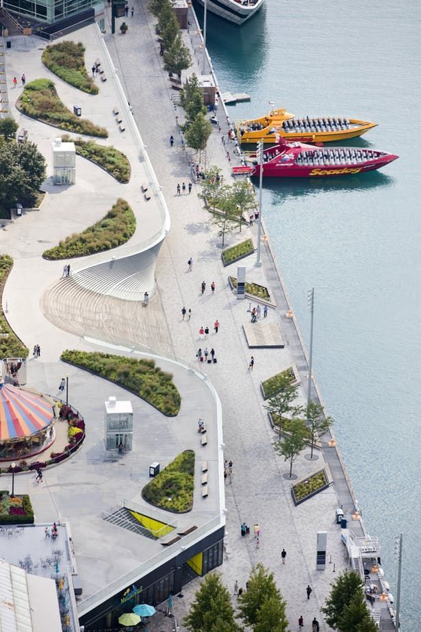 Chicago Navy Pier | nARCHITECTS | Archinect -  Chicago Navy Pier | nARCHITECTS; Prime and Lead Landscape Architect: James Corner Field Operations  - #archinect #chicago #cottagegardens #gardenideas #landscapedesign #narchitects #Navy #Pier