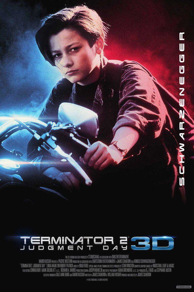 Terminator 2 3d 800 1200 Cine Peliculas Comic Books