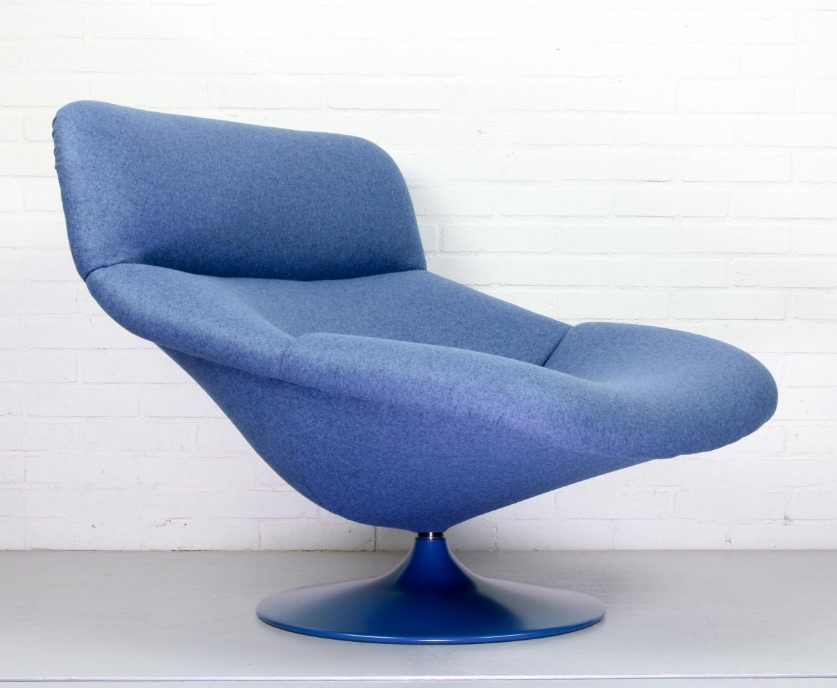 For Sale Vintage F518 Lounge Swivel Chair By Geoffrey Harcourt