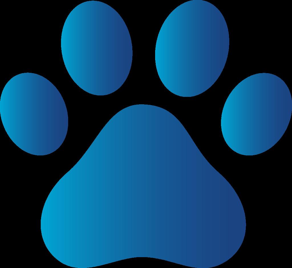 Blue Paw Prints Clip Art Patrulha Pata Caixinhas Para Lembrancinhas Imagens Patrulha Canina