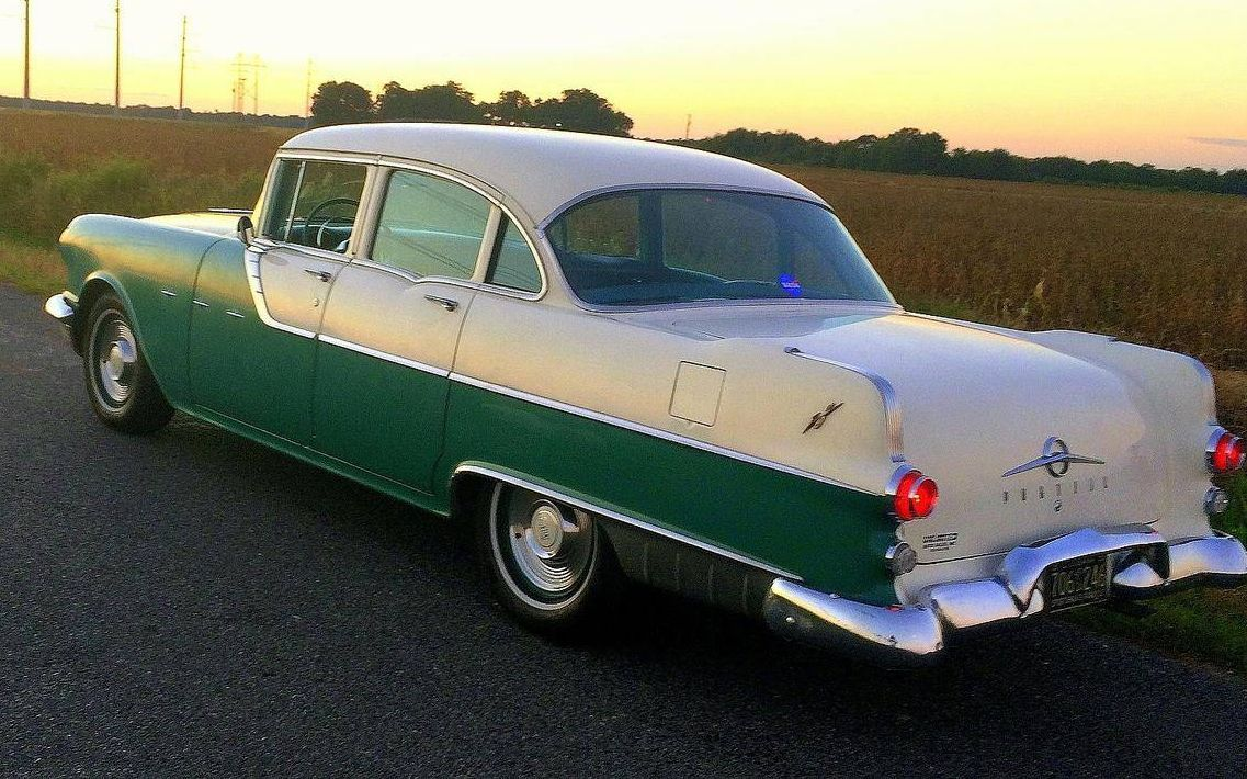 Hemmings find of the day 1955 pontiac star chief star for 1955 pontiac chieftain 4 door