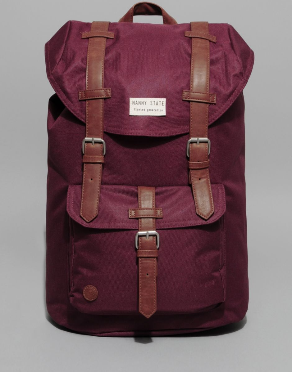 Nanny State Double Buckle Backpack BANK Fashion Sport
