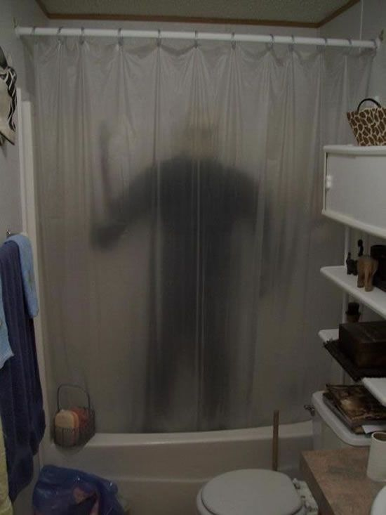 Horror Shower Curtain Google Search Halloween Party Decor