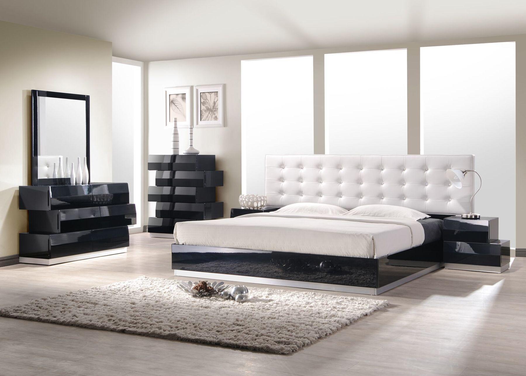 Milan Black King Set King Size B 2ns Dr Mr In 2020 Contemporary Bedroom Furniture Bedroom Furniture Sets