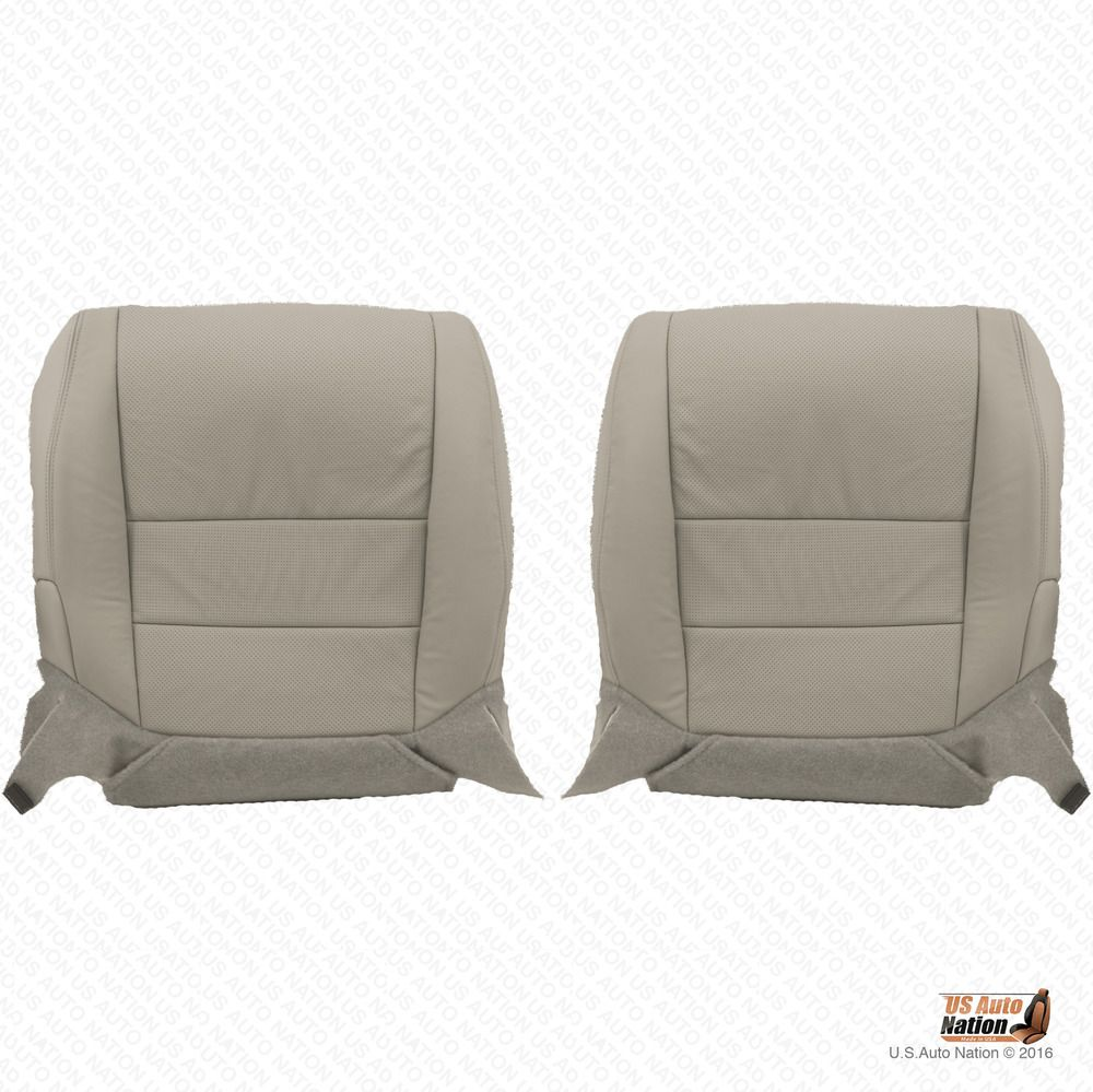 Front Driver & Passenger Bottom Preforated Leather Cover
