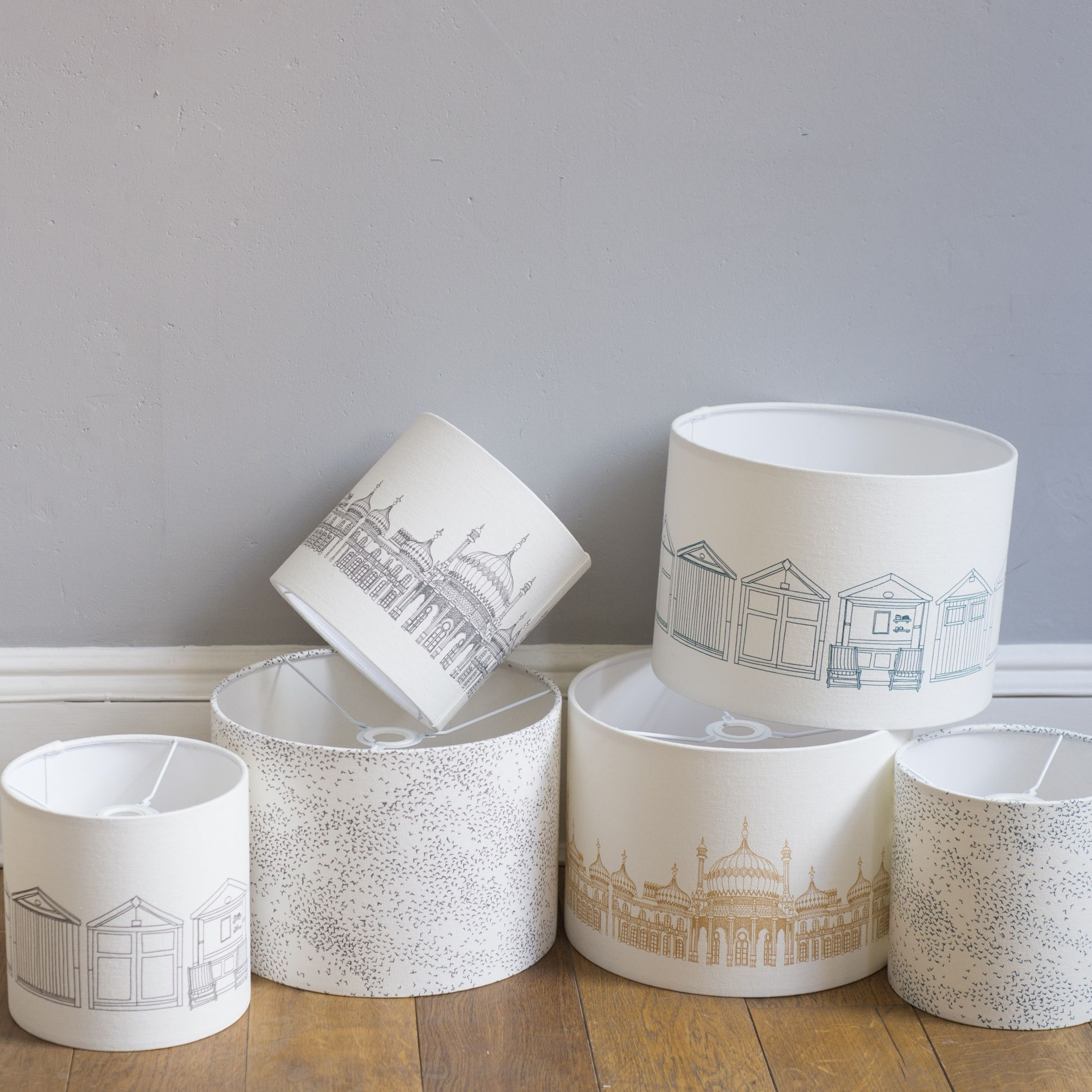 Brighton Lampshades  Photography by Holly Booth