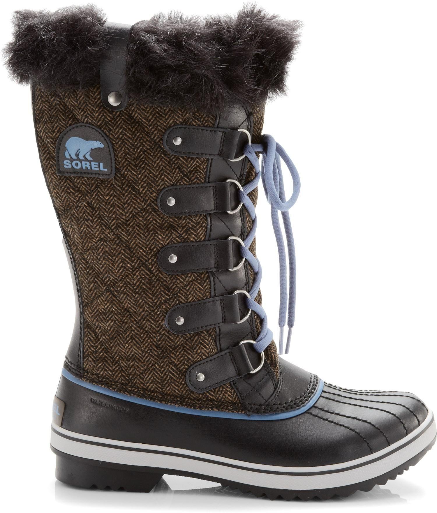 Sorel Tofino Herringbone Winter Boots Women S Rei Co Op Winter Boots Women Winter Boots Boots