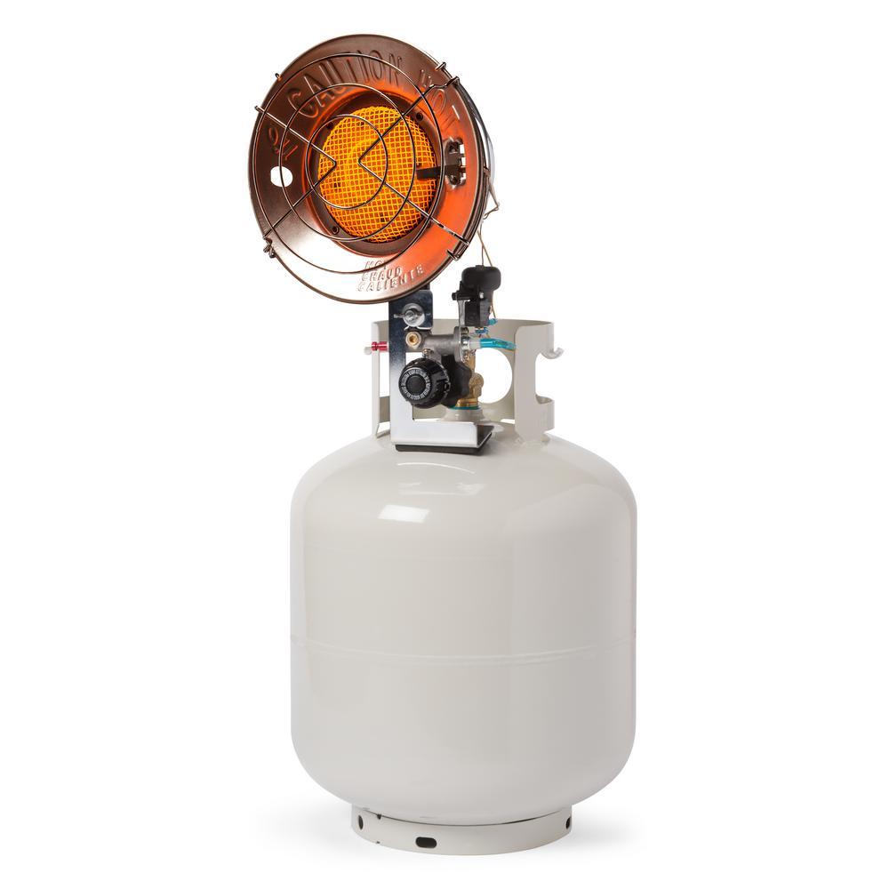 Zobo 15 000 Btu Propane Tank Top Heater Zbtt15 The Home Depot Tank Top Heater Propane Tank Portable Heating