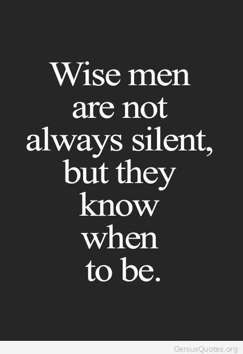 Silence Is Golden But The Squeky Wheel Gets The Grease Best Quotes Silence Is Golden Quotes