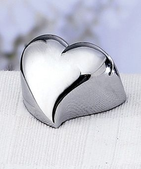 Heart Place Card Holder from Wedding Favors Unlimited
