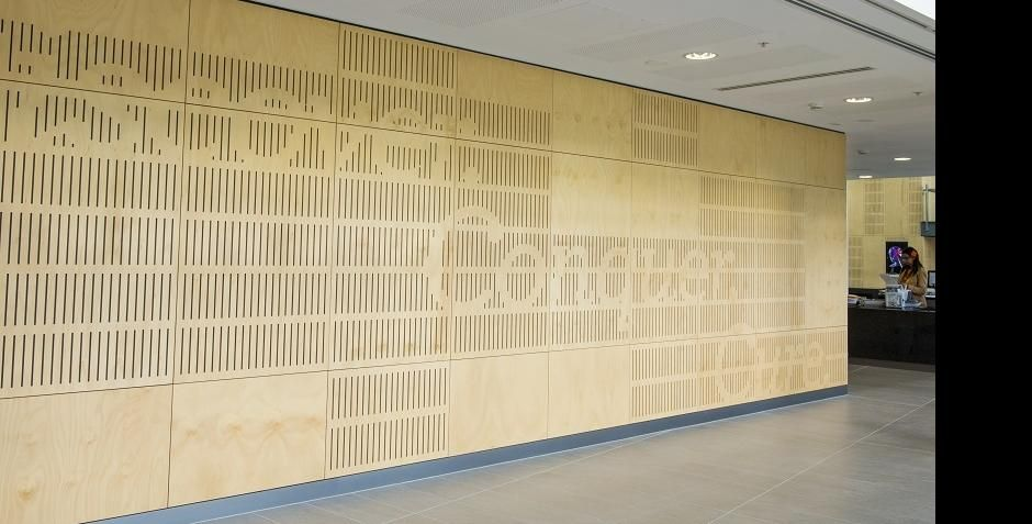 Timber Perforated Acoustic Panel Systems Google Search