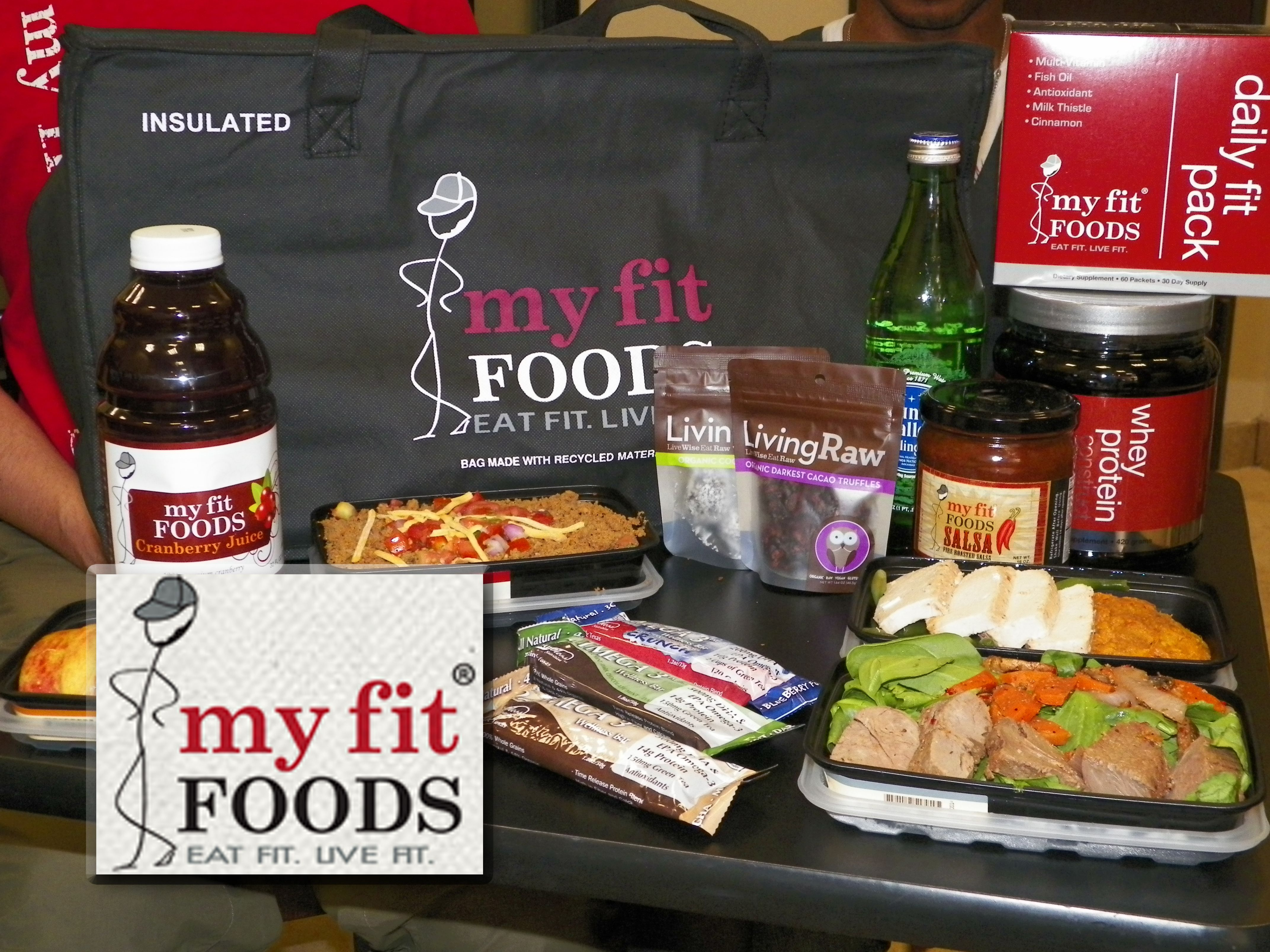 Delicious food from my fit foods starting 21 day challenge