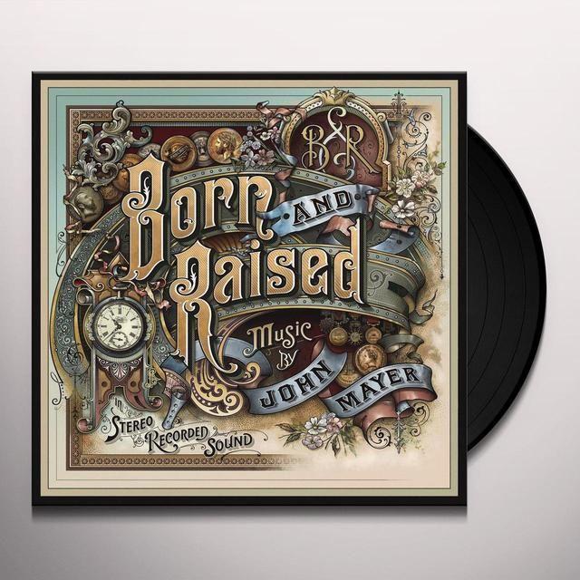John Mayer Born Raised Vinyl Record John Mayer Album John