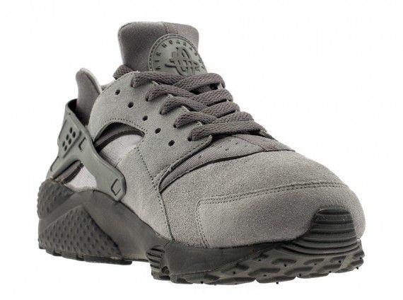 Nike Air Huarache - Cool Grey - Dark Grey - Anthracite ...