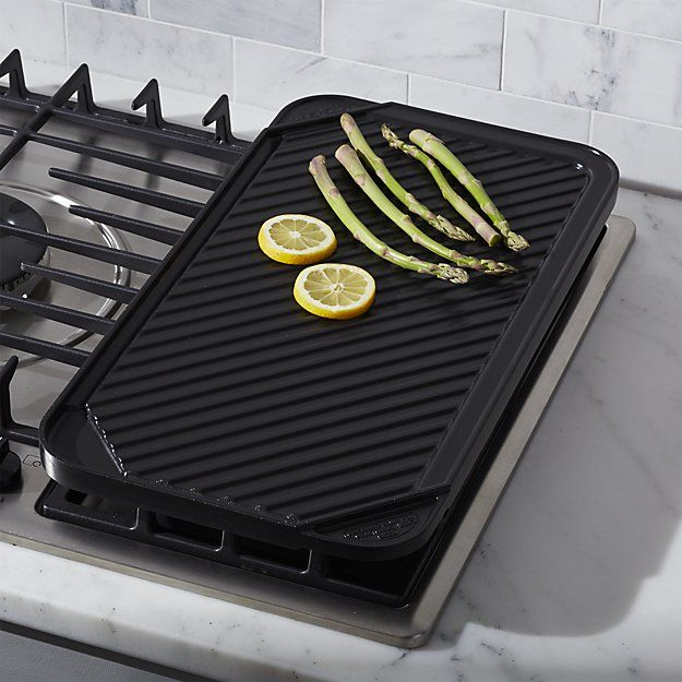 Reversible Ceramic Double Griddle | Pinterest | Electric cooktop ...