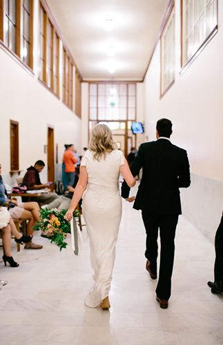 Romantic City Hall Elopement in San Fransisco - Inspired By This