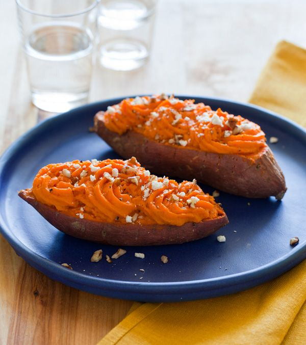 Chipotle Twice Baked Sweet Potatoes: Twice Baked Sweet Potatoes