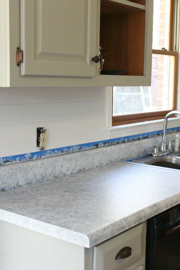 Transform Your Old Counter Tops For Under 100