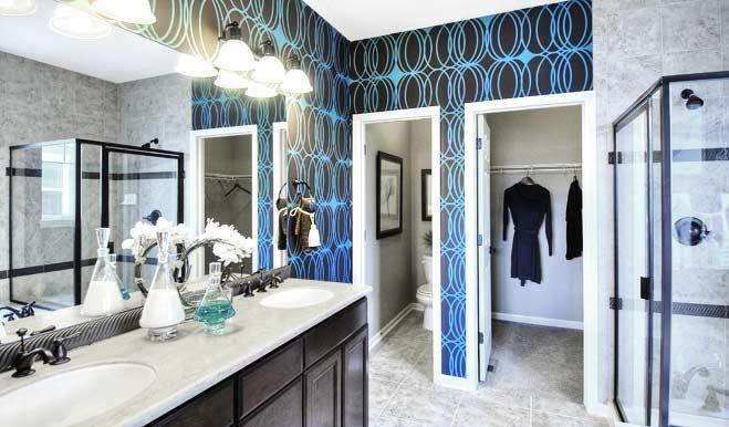 Ponderosa bathroom ponderosa floor plan richmond american homes my house for Richmond american homes design center denver
