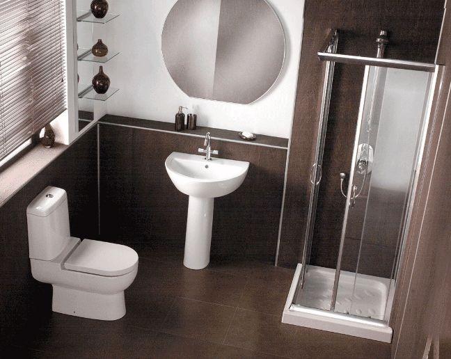Corner Shower Enclosure for Beautiful Small Bathroom | Home Sweet ...