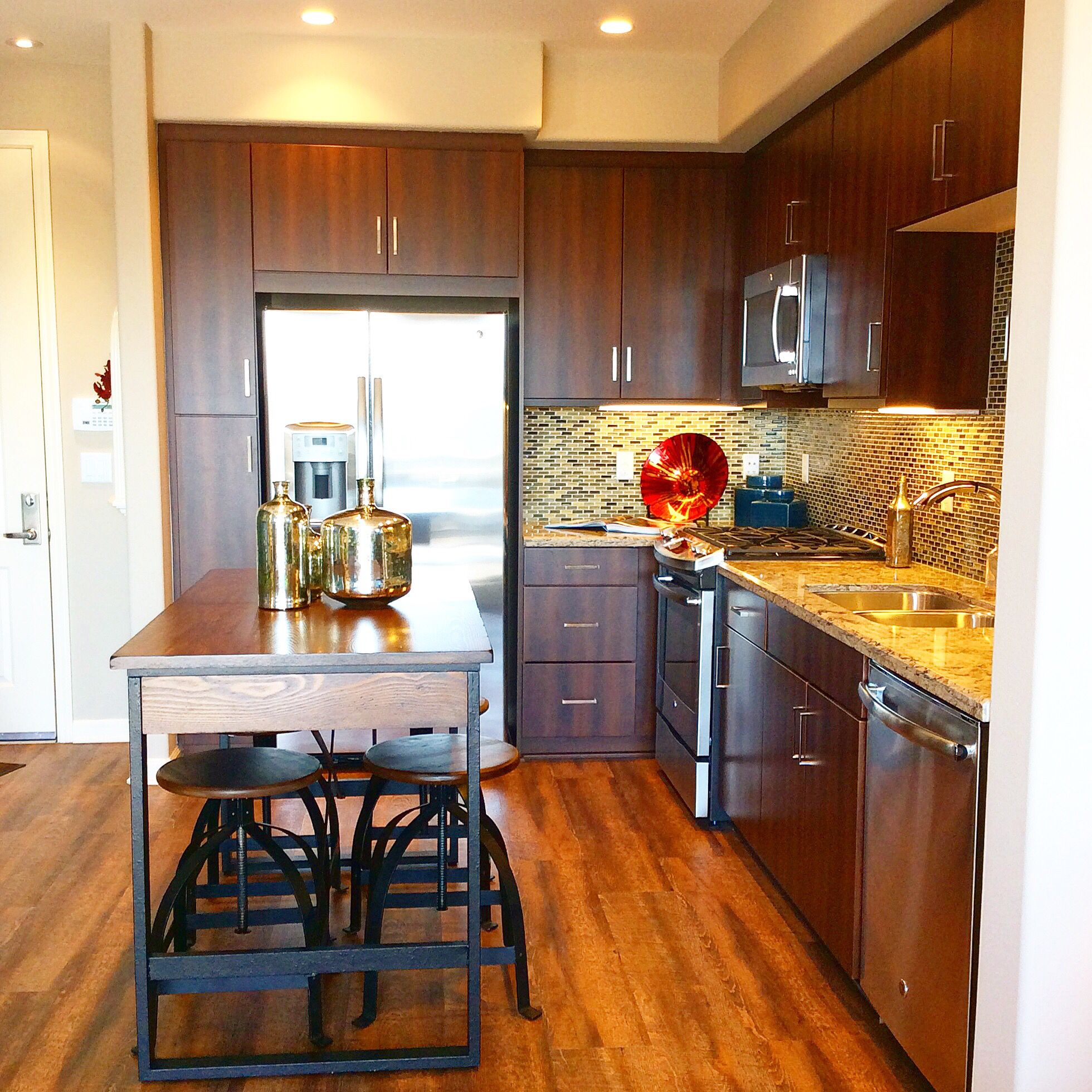 Be inspired by our beautiful modelapartments at tribeca