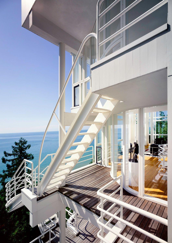 Haus der Gegensätze - Richard Meiers Douglas House gelistet