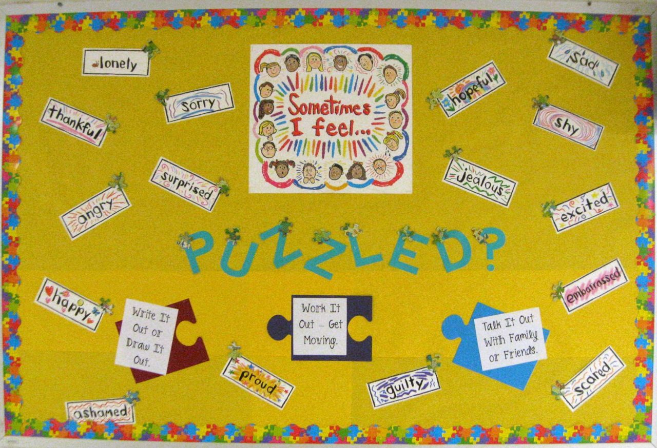 Feelings bulletin board! | Bulletin Boards (and other ideas) For ...