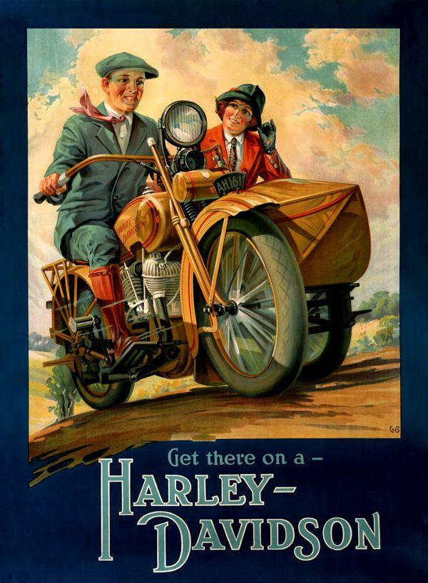 1920 S Advertising Harley Davidson Advertising 1920 S