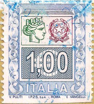 H 3.55mm, B 63.99mm Briefmarke-Europa-Südeuropa-Italien-1.00-2005