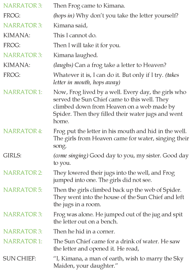 Grade 4 Reading Lesson 26 Horror How Frog Went To Heaven 1 | English ...