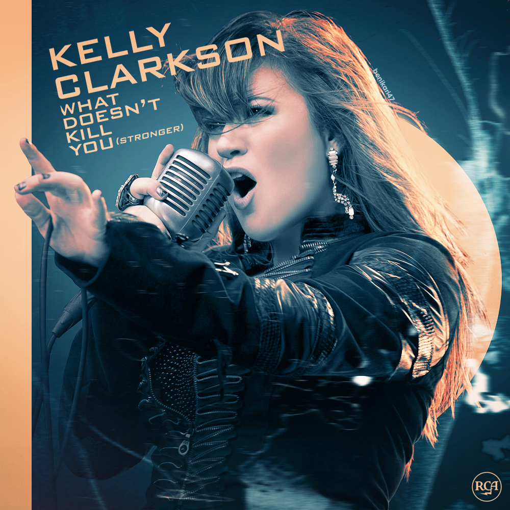 Kelly Clarkson – Stronger (What Doesn't Kill You) (single cover art)