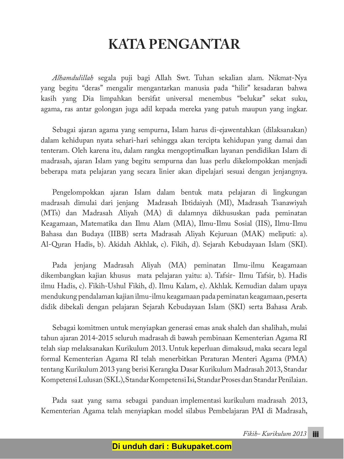 Rpp Akidah Akhlak Madrasah Aliyah Kurikulum 2013