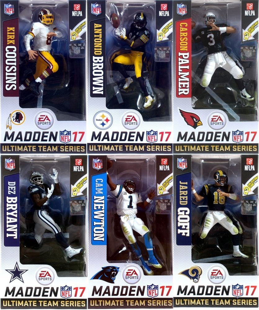 "McFarlane EA SPORTS MADDEN NFL 17 Ultimate Team Series 3 Carson Palmer 6/"" Figure"