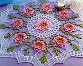 Spring always crochet doily pattern pdf