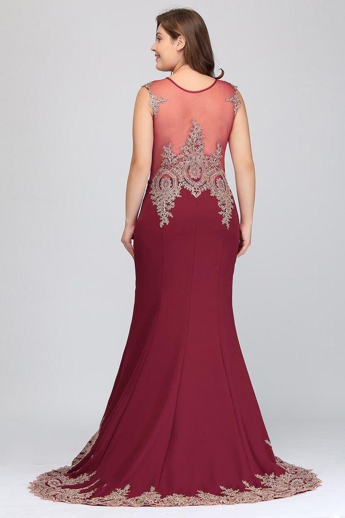 99736525354 Long Evening Dress – Curvy Fashion Queen Plus Size Formal Dresses