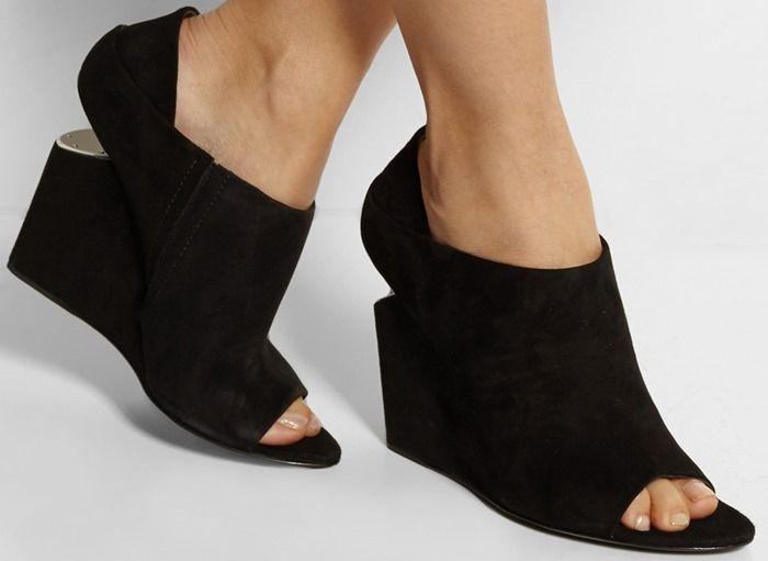 Alexander Wang Alla Suede Wedges visit clearance 2014 new shopping online outlet sale sale ebay HeT5Ov