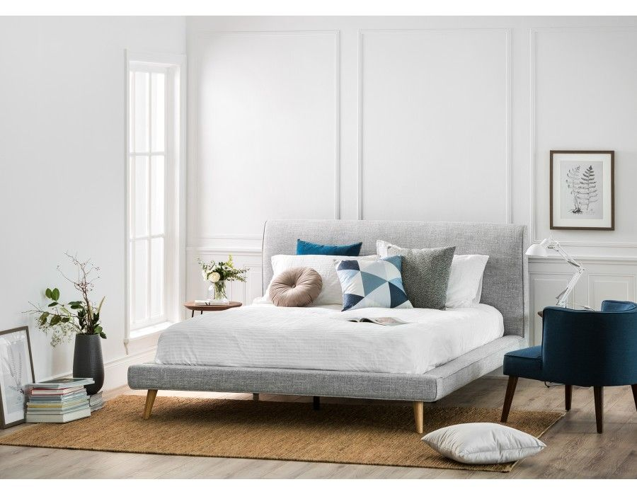 GERALDINE upholstered queen-size bed | Vacay home in 2019 ...