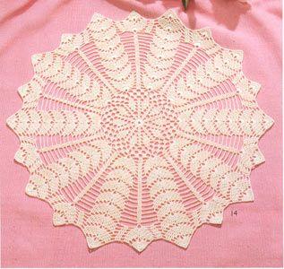 rundes deckchen hakeln round tablecloth crochet deckchen pinterest h keldeckchen. Black Bedroom Furniture Sets. Home Design Ideas