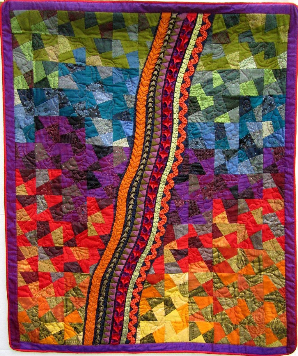 Elisabeth Skala Quilt Patchwork Gilde Austria Seite 3 Colorful Quilts Fabric Painting Quilts