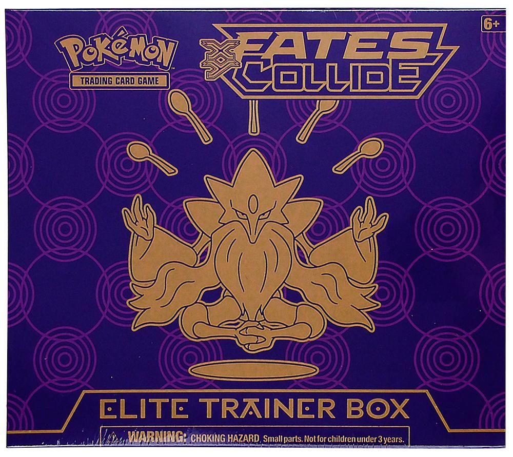 Pokemon xy fates collide elite trainer box da card world stuff