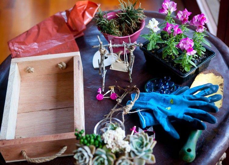 Minigarten Gestalten Ideen Und Tipps Fur Einen Hubschen Miniatur Garten Mini Garten Gestalten Ausgefallene Deko