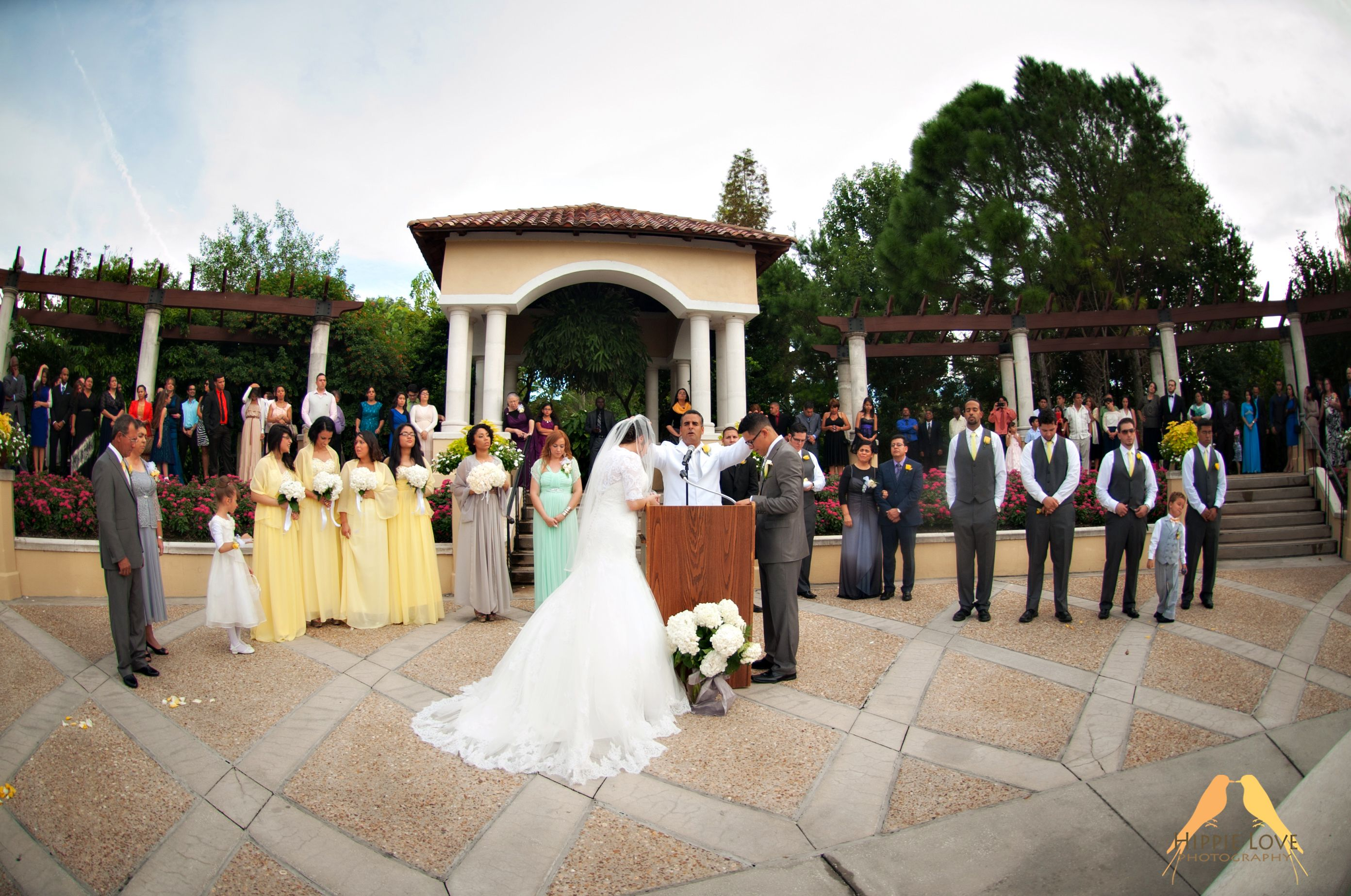 Hollis Gardens Wedding Ceremony Lakeland Fl