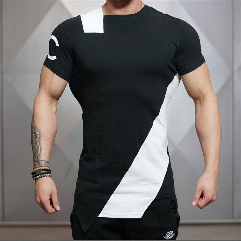 2016 New Brand clothing BE Gyms t-shirt mens fitness t-shirt homme Muscle  brother gymshark t shirt men fitness crossfit tops