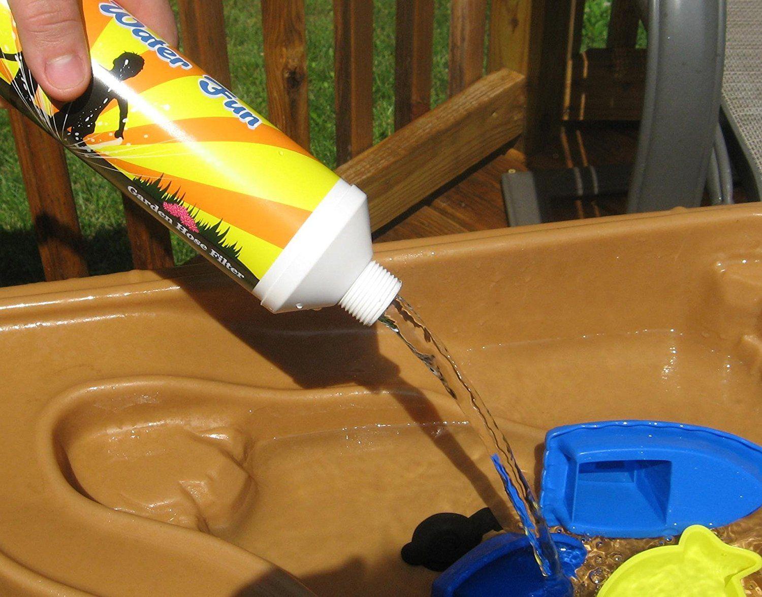 Garden Hose Filter Removes Chlorine Chloramines Vocs Pesticides Herbicides