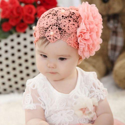 32231724161 1pc-Baby-Kids-Girl-Toddler-Lace-Flower-Headband-Hair-Bow-Band-Headwear