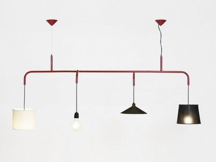 originalidad casa distintos tipos lamparas techo ideas Iluminación