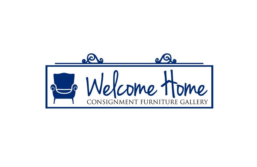 Create a logo that captures the overall experience for Welcome Home  Furniture Consignment Gallery by. Welcome Home Furniture Consignment   mbDesignsFlorida com